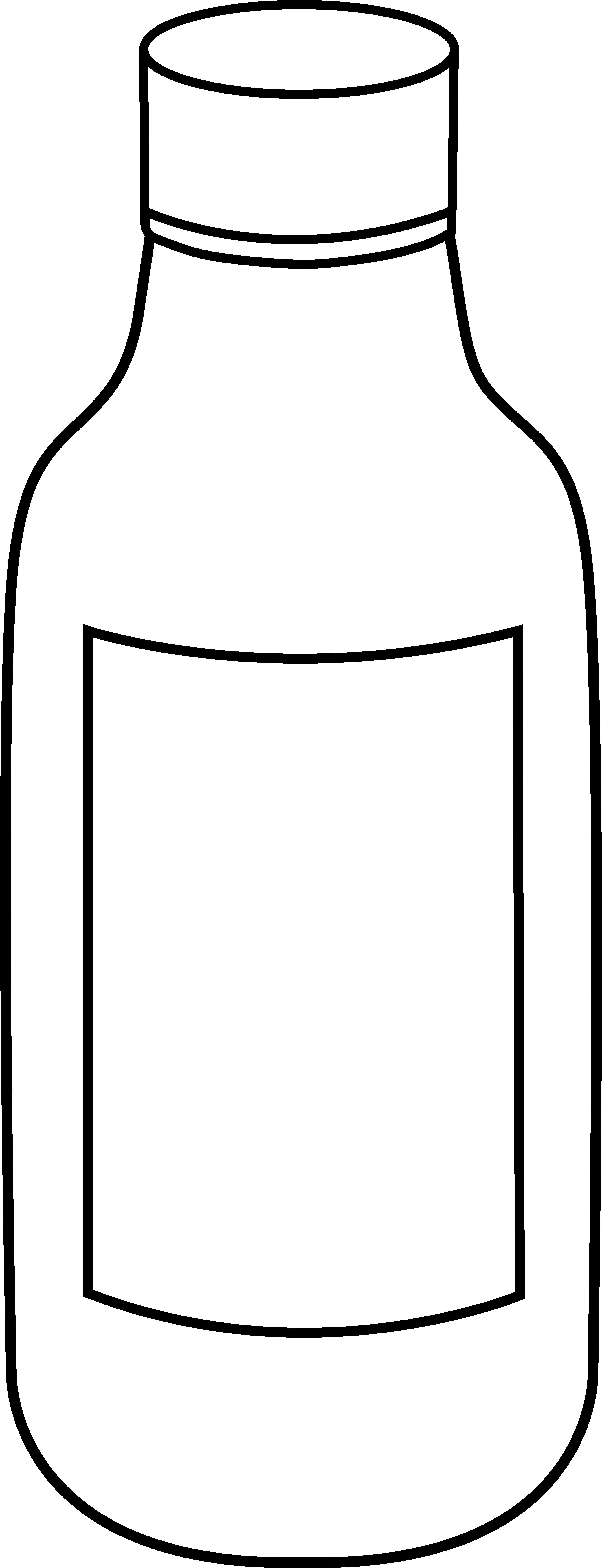 pin Black u0026 White clipart bottle #4 - Jug PNG Black And White