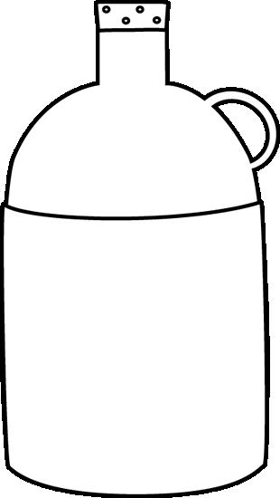pin Black u0026 White clipart jug #13 - Jug PNG Black And White