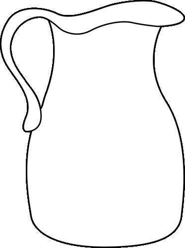 pin Black u0026 White clipart jug #5 - Jug PNG Black And White