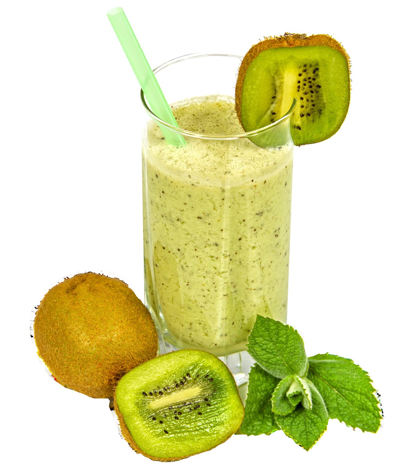 Kiwi Coctail PNG Transparent Image - Juice PNG