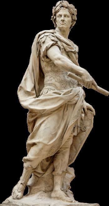 Sculpture of Julius Caesar PlusPng.com  - Julius Caesar PNG HD