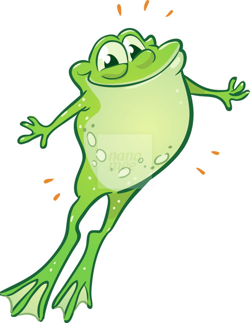 Jumping Frog PNG HD - 136013