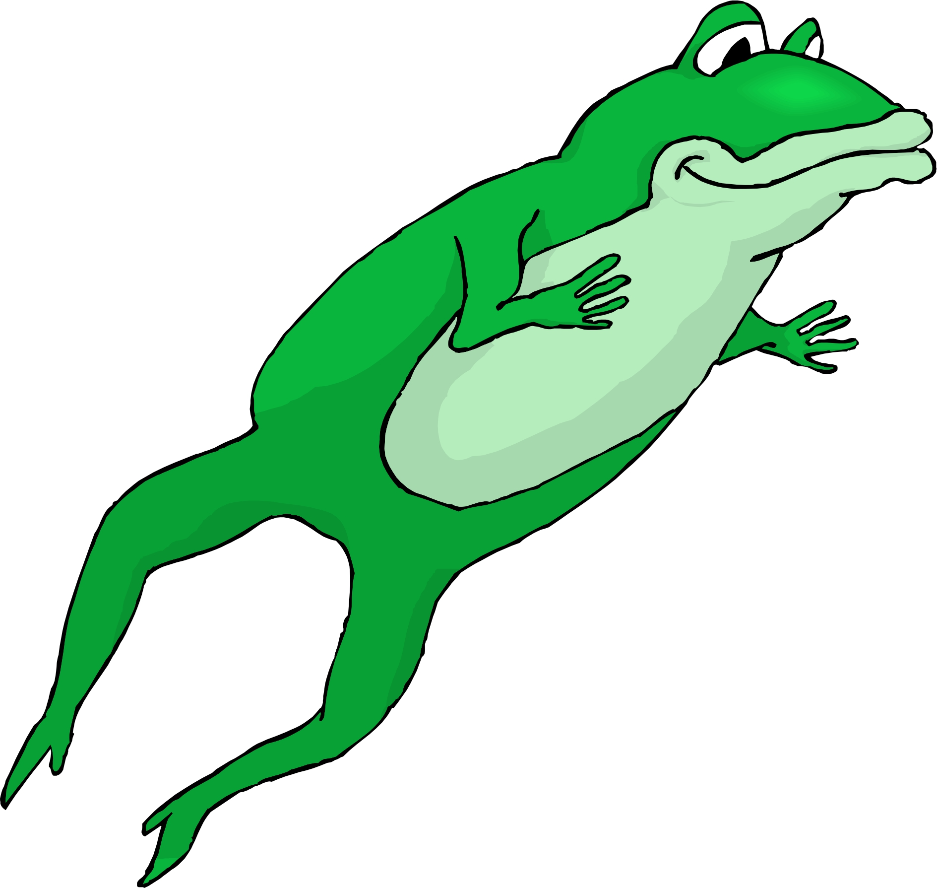 Hopping Frog Clipart #27885 - Hopping Frog PNG - Jumping Frog PNG HD
