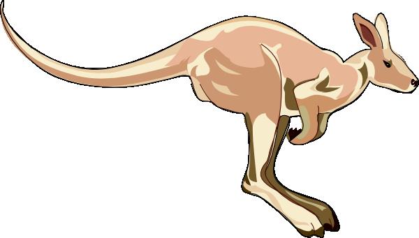 Jumping Kangaroo Clipart - Jumping Kangaroo PNG