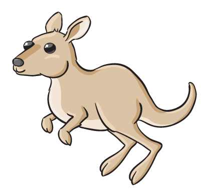 Jumping kangaroo clipart free images 2 - Jumping Kangaroo PNG