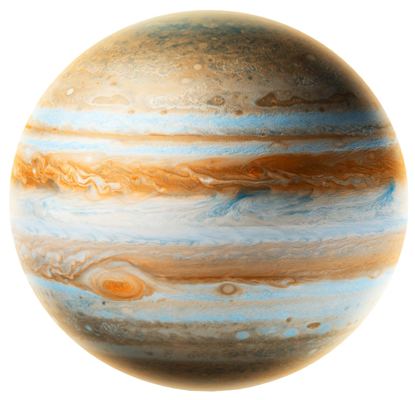 jupiter facts With a total of 79 known moons — including four large moons known as the galilean satellites — jupiter almost qualifies as a solar system unto itself.