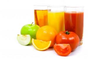 jus tomate pomme orange Les v