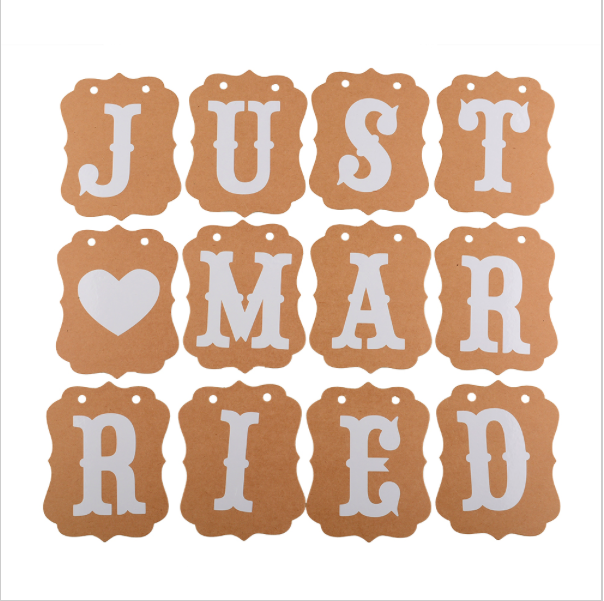 Just Married Banner PNG - 68301