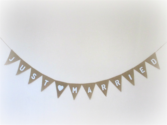 Just Married Banner PNG - 68297