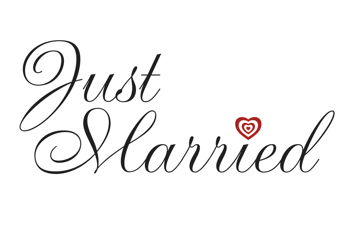 Just Married Window Cling - Just Married Banner PNG