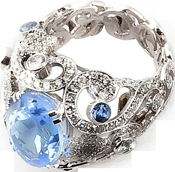 Saffier - Davman Juwelen Hasselt - Juwelen PNG