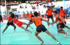 According to Wikipedia, Kabaddi is a contact team sport that originated in  the Indian subcontinent in Tamil Nadu. It is popular in South Asia and is  the PlusPng.com  - Kabaddi PNG