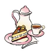 kleinen und großen Leute zum Klönen bei Kaffee / Tee und. selbstgebackenem  Kuchen PlusPng.com  - Kaffee Und Kuchen PNG