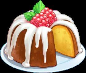 bundt cake clipart - Kaffee Und Kuchen PNG Schwarz Weiss