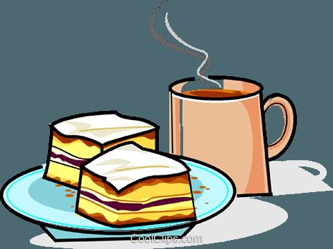 Cake With Coffee Cream