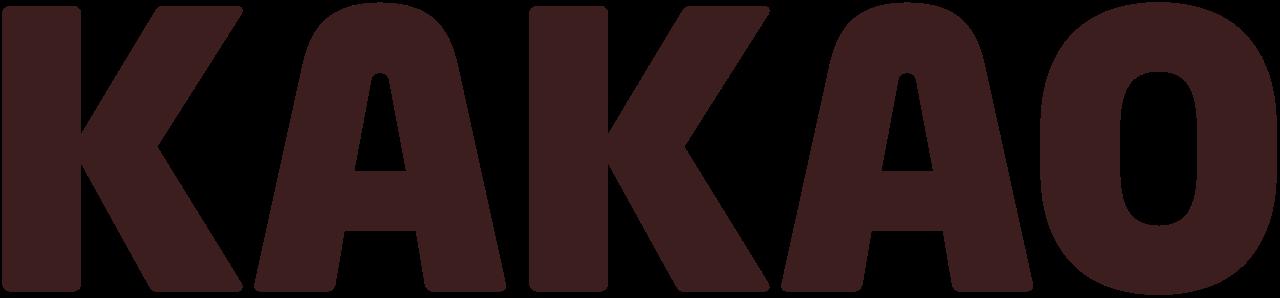 File:Kakao Corp. wordmark - 2010.svg - Kakao Logo PNG