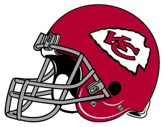File:540px-AFC Retro Helmet KC Left Face.png - Kansas City Chiefs PNG