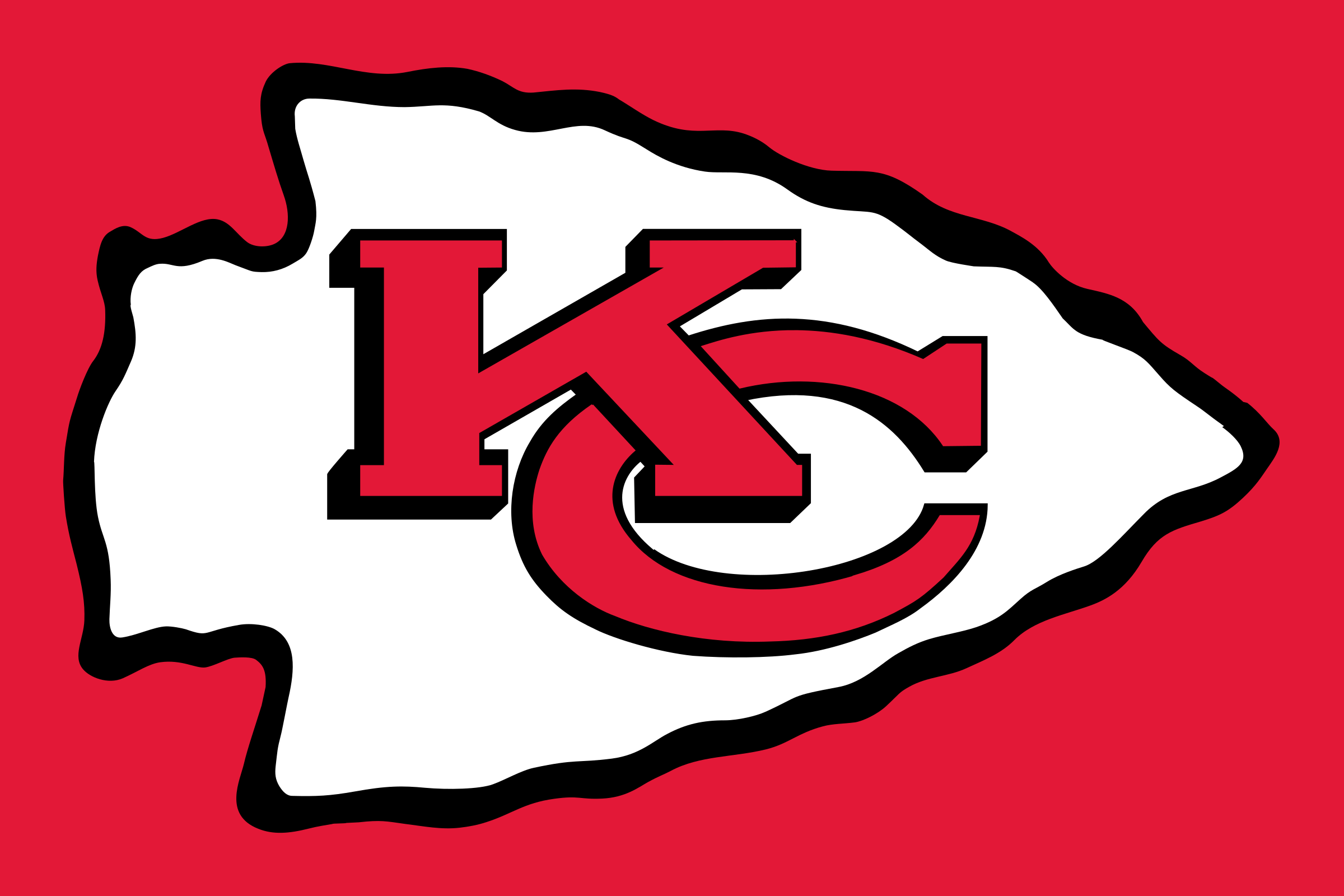 Kansas City Chiefs arrowhead logo - Kansas City Chiefs PNG