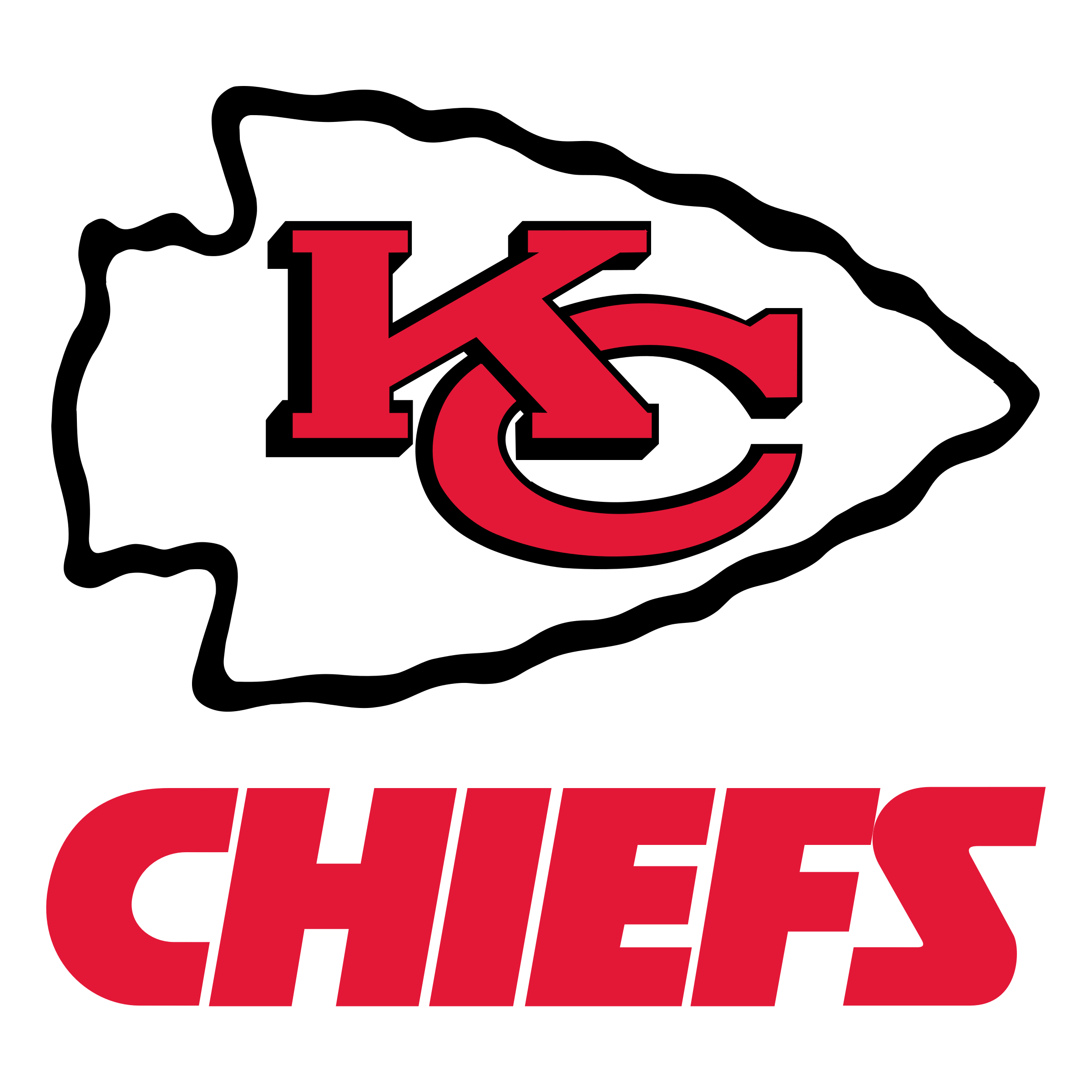 Kansas City Chiefs football logo - Kansas City Chiefs Vector PNG
