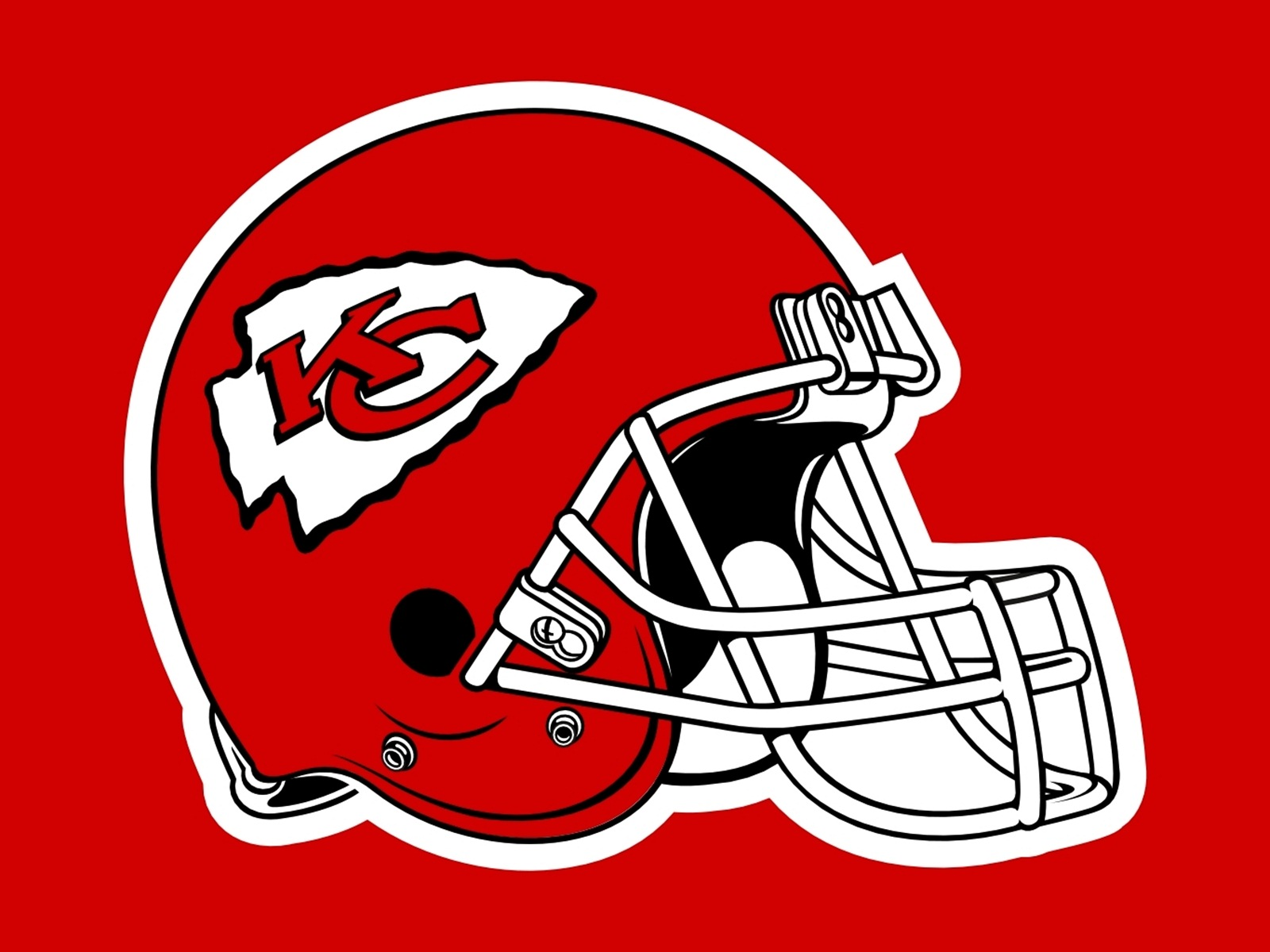 kansas city chiefs helmet clipart - Kansas City Chiefs Vector PNG