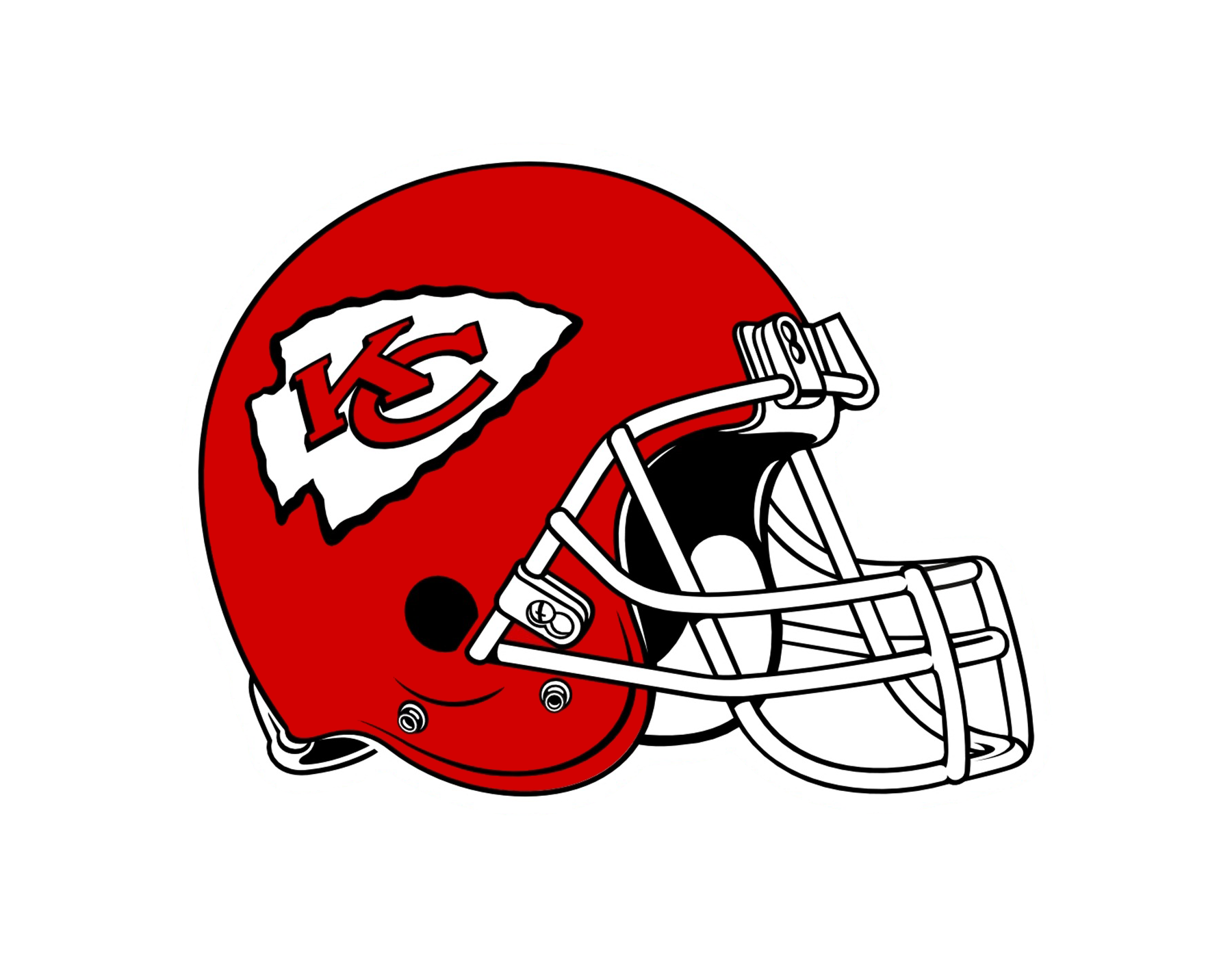 Kansas City Chiefs helmet logo - Kansas City Chiefs Vector PNG