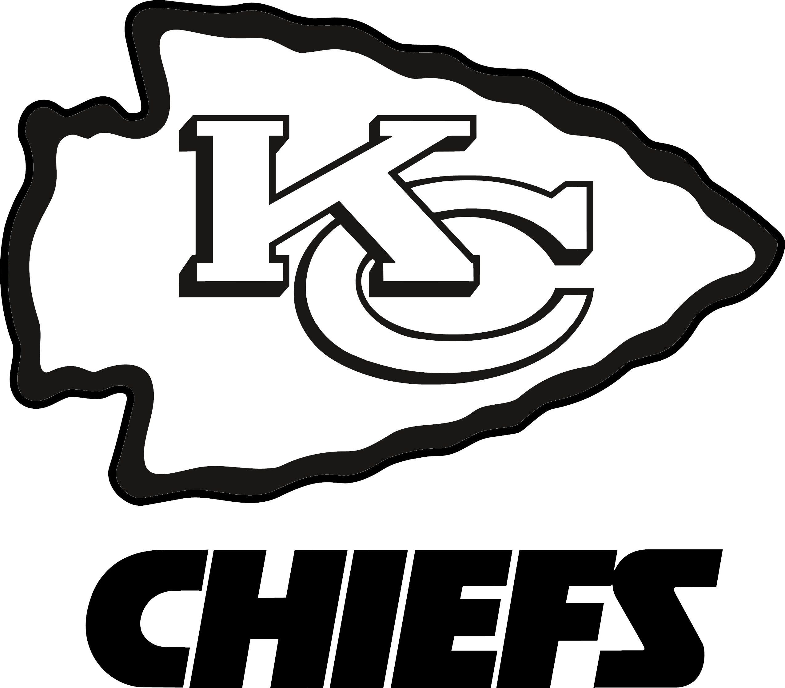 Kc Chiefs Logo Kansas City - Kansas City Chiefs Vector PNG