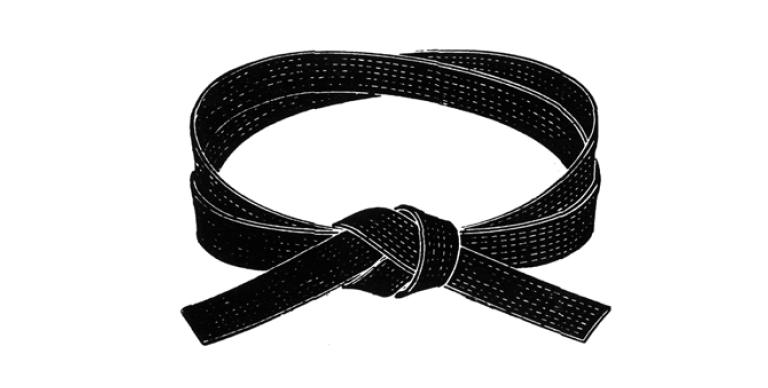 Karate Black Belt PNG - 151764