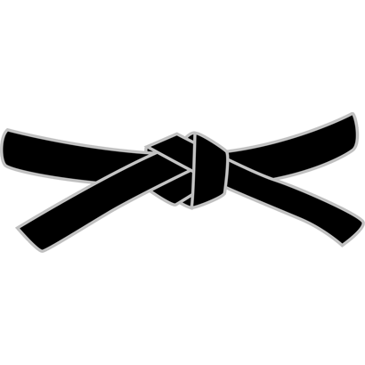 Karate Black Belt PNG - 151765
