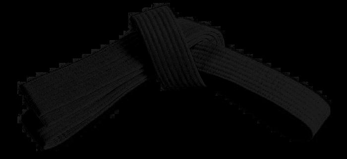 Karate Black Belt PNG - 151763