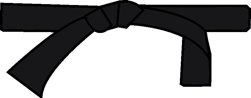 Karate Black Belt PNG - 151756
