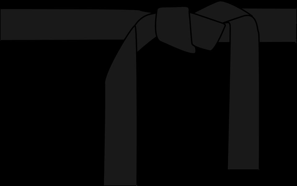 Karate Black Belt PNG - 151762