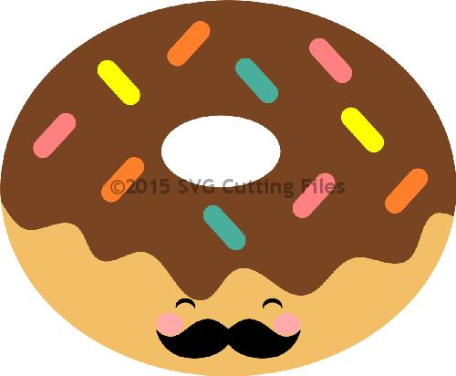 Kawaii Donut PNG-PlusPNG.com-500 - Kawaii Donut PNG