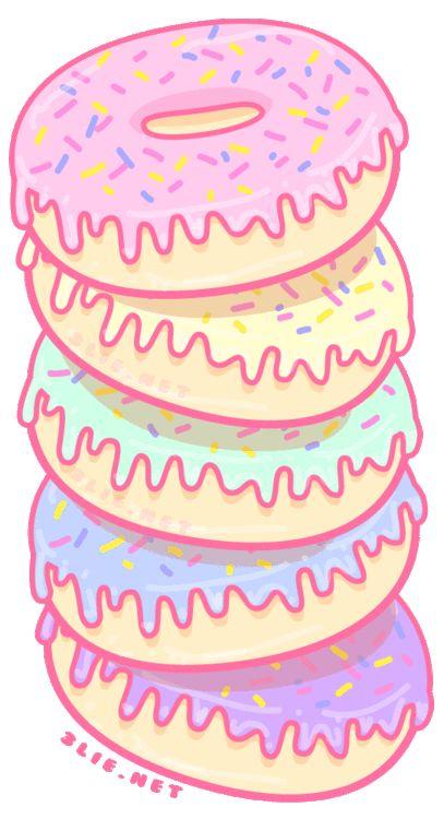 Kawaii Donut PNG - 48043