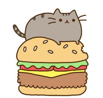 hamburguesa kawaii png PlusPng.com  - Kawaii Transparent PNG