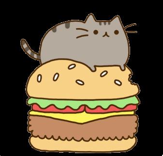hamburguesa kawaii png PlusPng.com  - Kawaii Transparent PNG