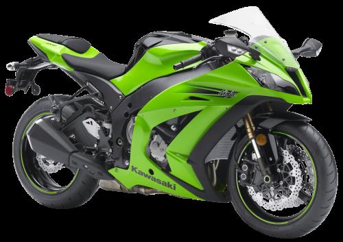 Kawasaki Ninja Zx10r Sport Bike PNG Image