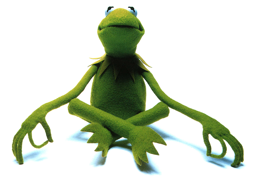 Image - Kermit-meditating-small.png | Muppet Wiki | FANDOM powered by Wikia - Kermit PNG