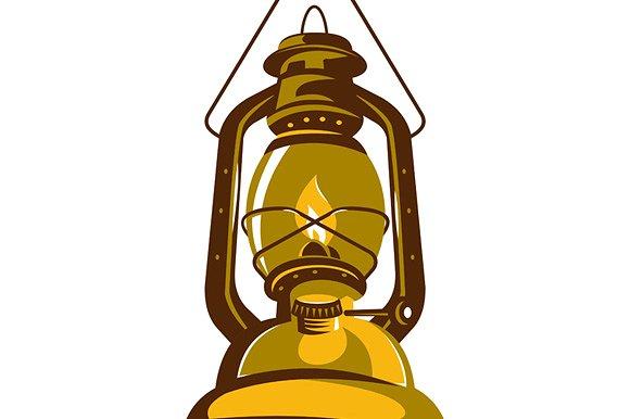 Kerosene Lamp PNG - 48772