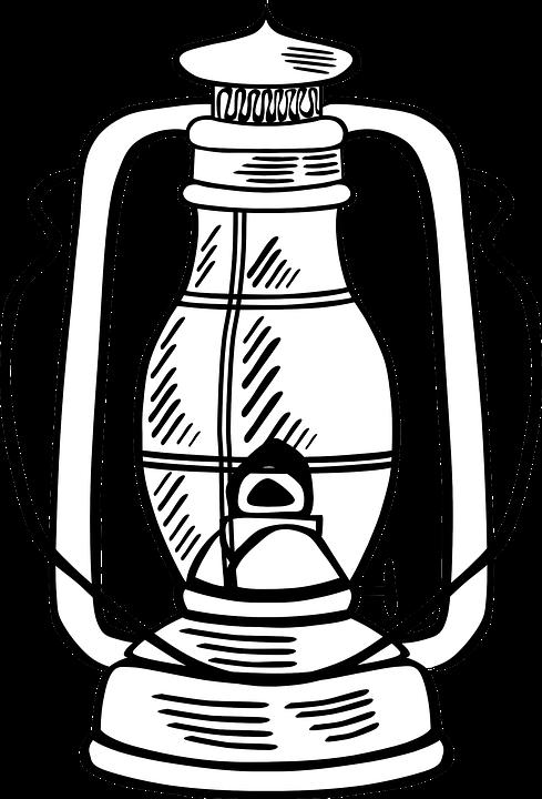Kerosene Lamp PNG - 48774