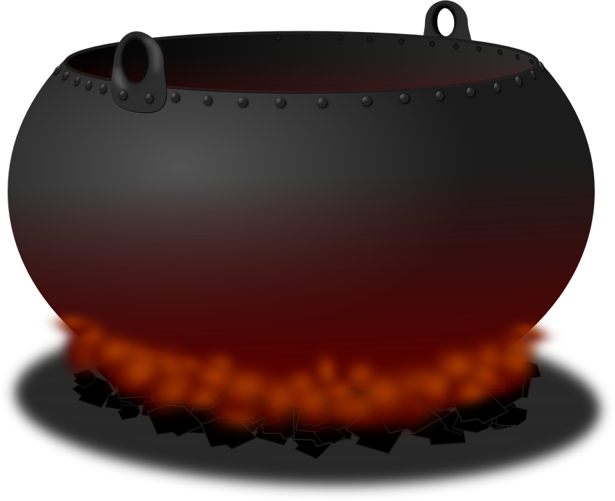 Free vector graphic: Cauldron, Pot, Fire, Heat, Cooking - Free Image on  Pixabay - 161102 - Kessel PNG