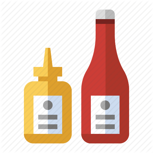 Ketchup And Mustard PNG - 48795