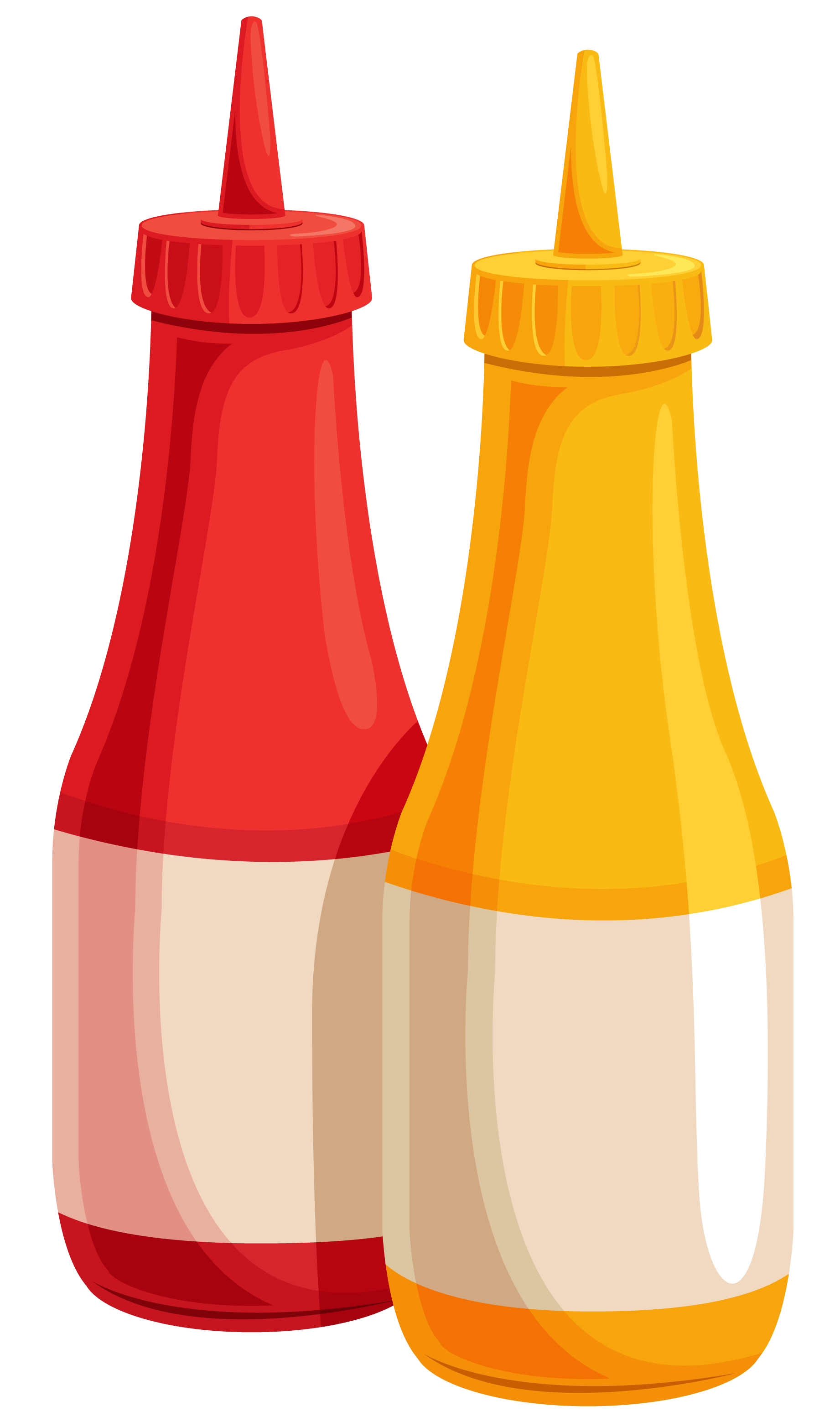 Ketchup And Mustard PNG - 48779