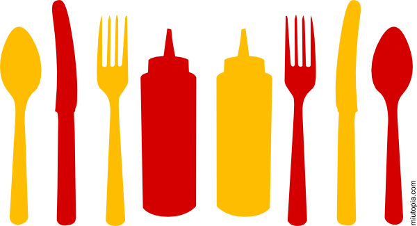 Ketchup And Mustard PNG - 48787