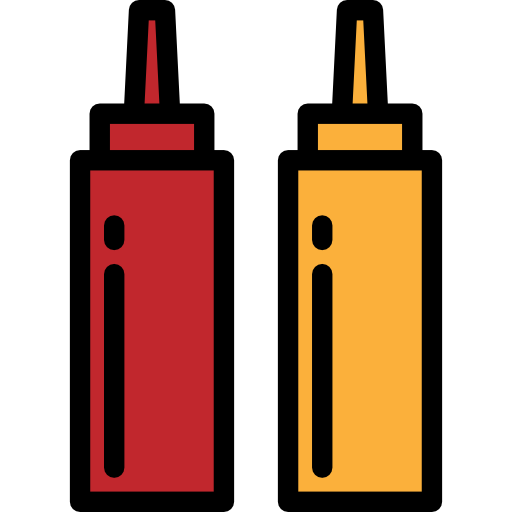 Ketchup And Mustard PNG - 48786