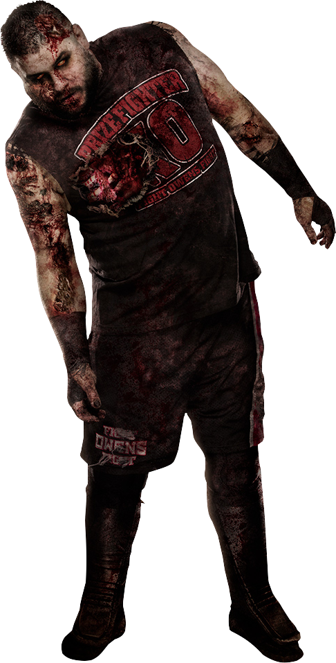 Kevin Owens 2016 Zombie PNG by AmbriegnsAsylum16 PlusPng.com  - Zombie PNG
