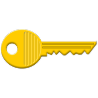 Similar Lock Keys Facts PNG Image - Key HD PNG