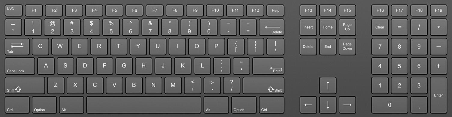 Keyboard HD PNG - 119639