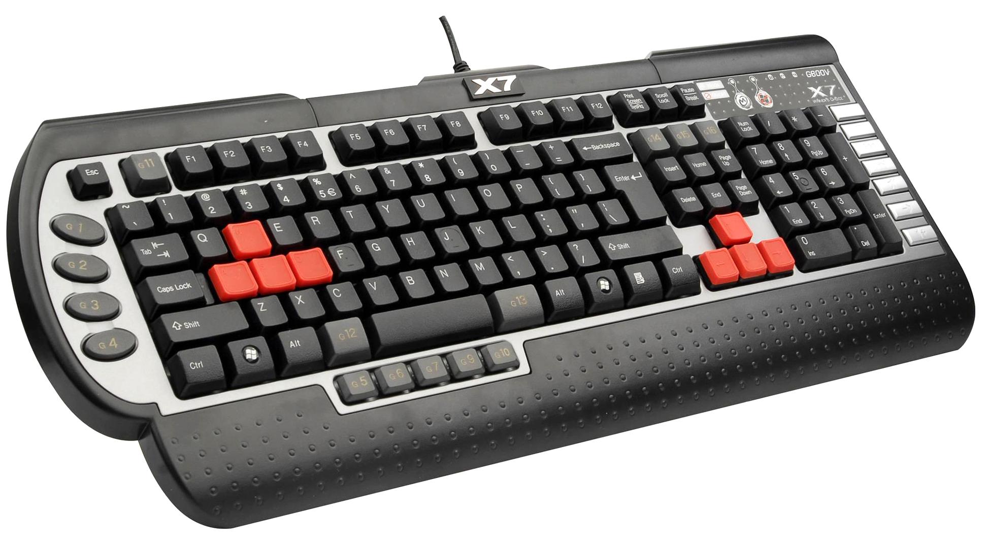 Black computer keyboard PNG i
