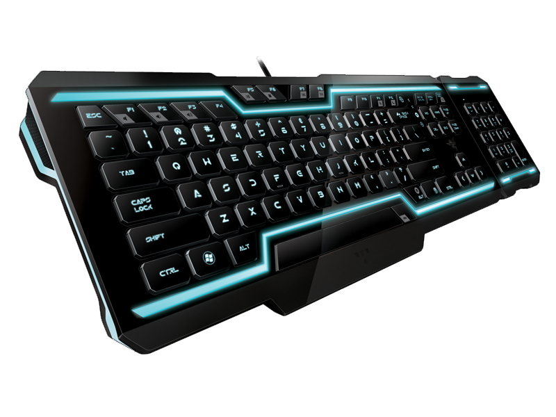 Razer Tron Keyboard PNG - Keyboard PNG