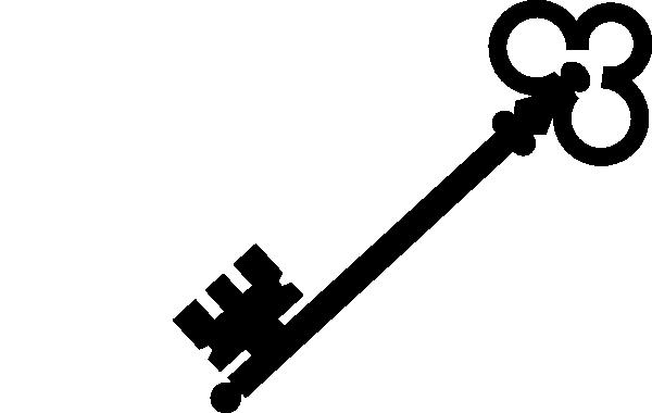 Keys PNG Black And White - 153898